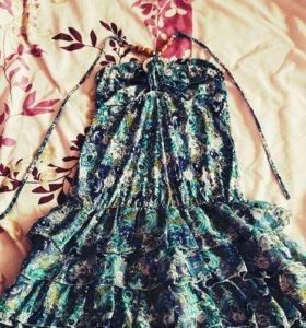 Платье летнее модное 44р