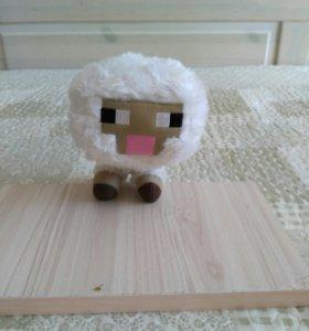 """Игрушка майнкрафт """"овечка"""""""