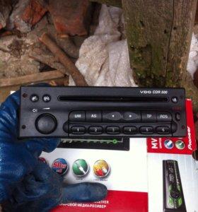 Магнитофон родной с Opel Astra
