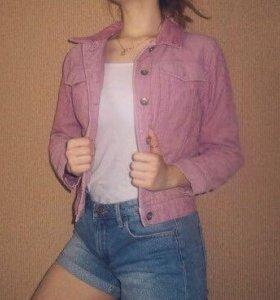 Вивьетовая куртка (приглушённо розовая)