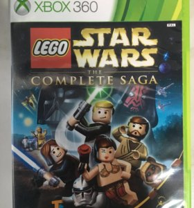 Игра на Xbox 360 lego Star Wars the complete saga