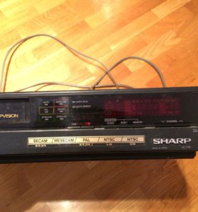 Видеомагнитофон Sharp VC-779E. Видео проигрыватель