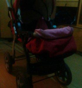 Коляска ванесса с сумкой для младенца
