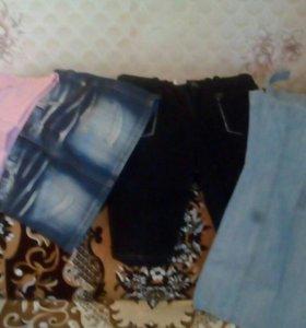 Юбки мини, бриджи,сарафан джинса