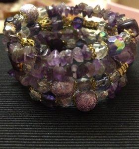Браслет из натуральных камней