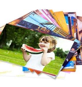 Печать фото разных форматов