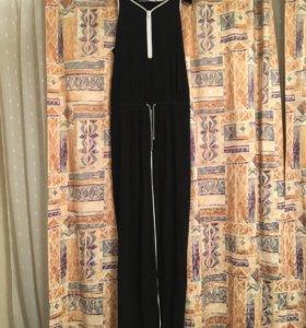 Длинное чёрное платье Sportmax