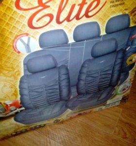 Кожаные чехлы в машину (универсальные)