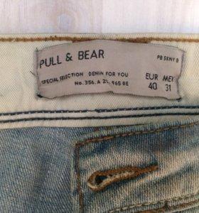 Джинсы мужские Pull Bear