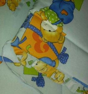 Балдахин+Бортики на детскую краватку