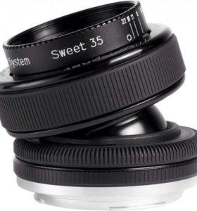 Lensbaby composer pro sweet 35 mm