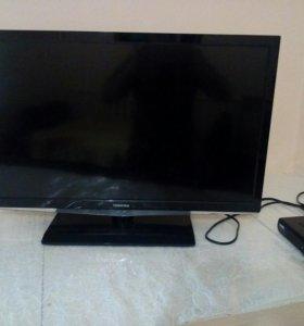 Телевизор TOSHIBA И 20канальный кабель