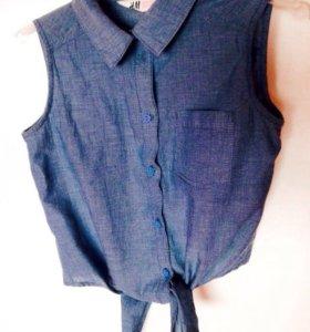 Рубашка детская 8-9лет