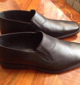 Туфли новые мужские кожаные 45р