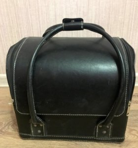 Кейс(сумка) для визажиста/парикмахера, кожа