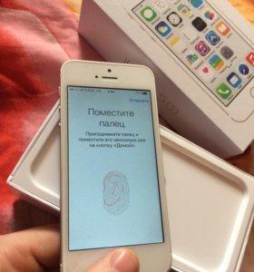 iPhone 5s,16gb,оригинал ,с отпечатком