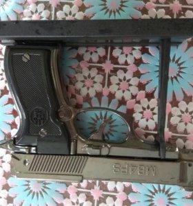 Сувенир-зажигалка пистолет