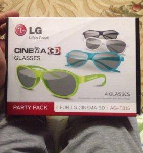 3D очки!