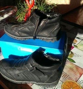 Ботинки подросковые