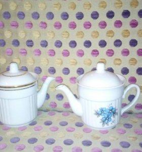 Чайник фарфор  (новые)
