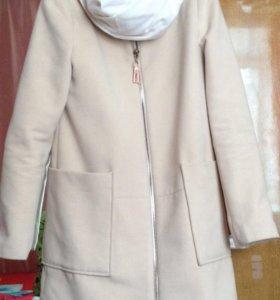 Пальто весеннее+шарф