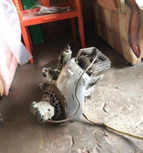 Двигатель на мотороллер