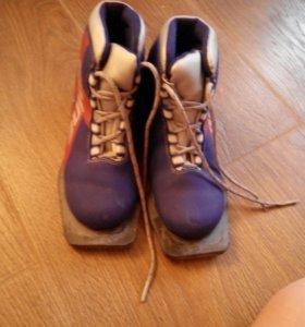 Лыжная обувь+крепления