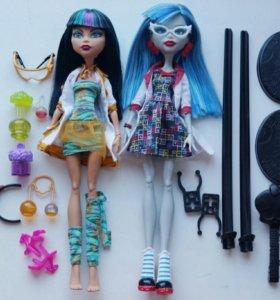 Куклы Monster High Клео Де Нил и Гулия Йелпс