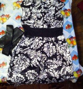Платье атласное!