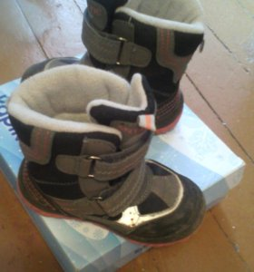 Ботинки зимние детские