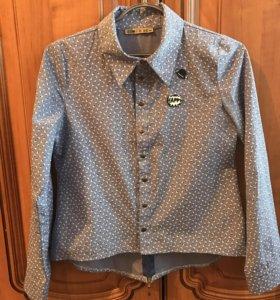 Рубашка для девочки, рост 164
