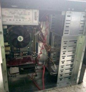 Системник + монитор + клава + CD-ROM