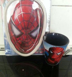 Набор посуды Спайдермен