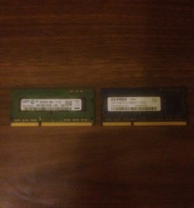 Оперативная память SODDIM 2gb 2шт