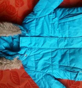 Куртка зимняя р. 98