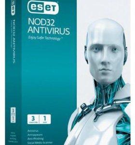 Антивирус rest nod32 на 3 пк