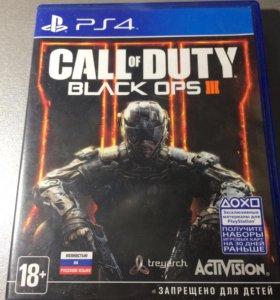 Диск на PS4 Call of Duty: Black ops 3