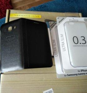 Чехлы iPhone 6, A5, S5, J1