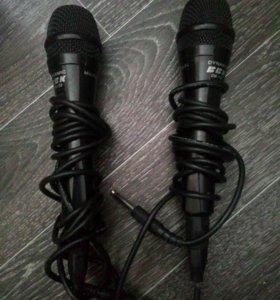 2 микрофона BBK