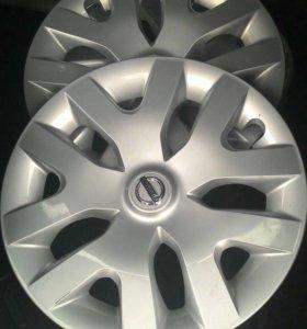 Колпаки на Nissan r16