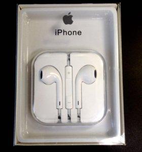 Apple AirPods наушники гарнитура