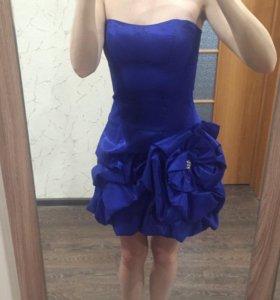 Коктельное платье+ красивый браслет в подарок!
