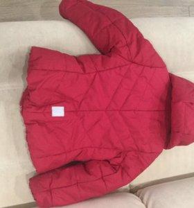 Демисезонная куртка Reima на девочку