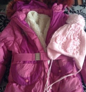 Зимне сезонная куртка с штанами