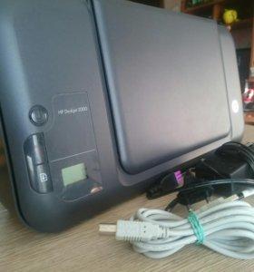 Принтер HP Deskjet 2000.