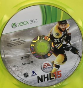 Игра на Xbox 360 NHL15