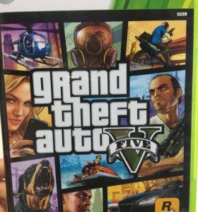 Игра на xbox360 GTA 5