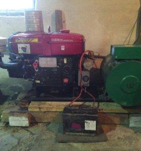 Дизельная электростанция 20 кВт 380в.