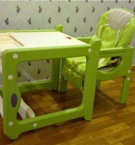 Стул/стол для кормления ребенка трансформер