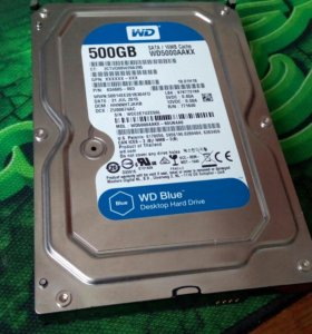 WD 500Gb wd5000aakx